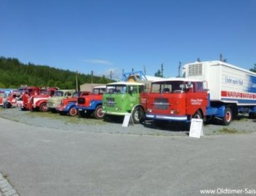 2. Bayerisch – Böhmisches Nutzfahrzeugveteranen Treffen