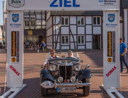 "Rekordbeteiligung bei der 13. Oldtimer-Rallye ""Rund um Oelde"""