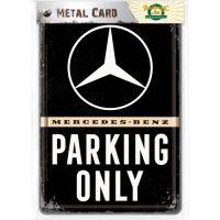 Blechpostkarte-Mercedes-Benz