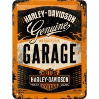 Blechschild-15x20-Harley-Davidson