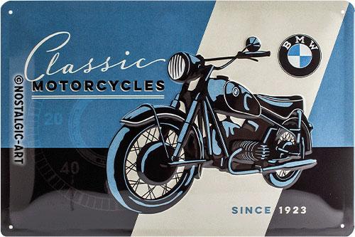 Blechschild-20x30-BMW-Classic