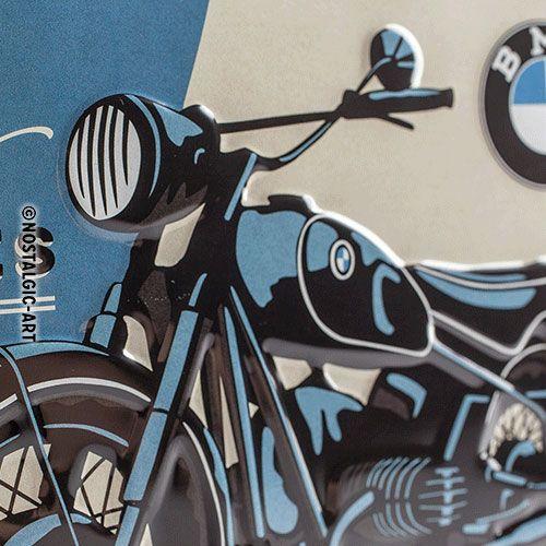 Blechschild-20x30-BMW-Classic-detail