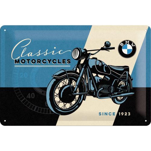 Blechschild-20x30-BMW-vorn