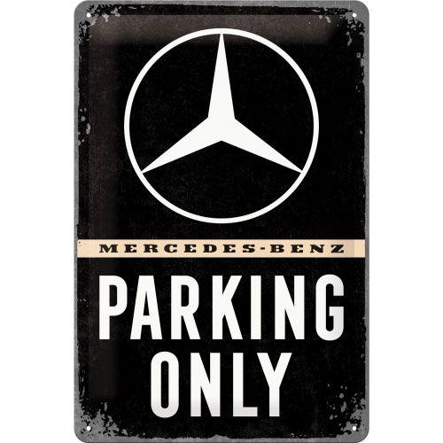 Blechschild-20x30-Mercedes-Benz