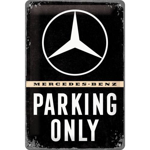 Blechschild-20x30-Mercedes-Benz-vorn