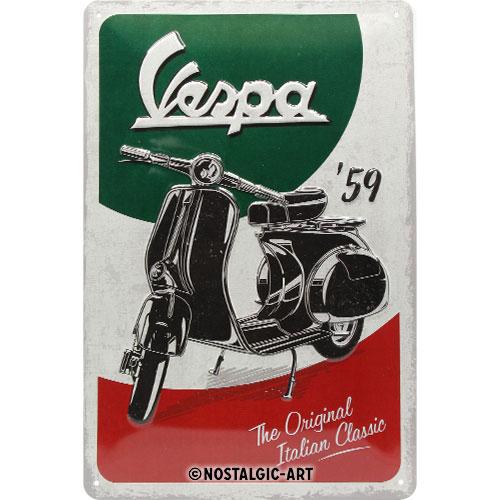 Blechschild-20x30-Vespa
