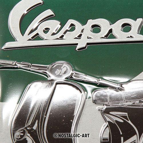 Blechschild-20x30-Vespa-detail