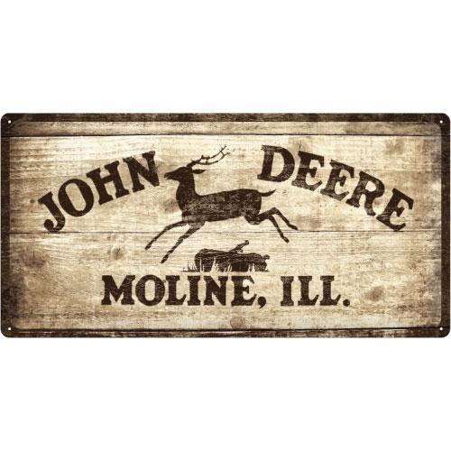 Blechschild-25x50-John-Deere-vorn