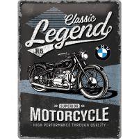 Blechschild-30x40-BMW-Classic