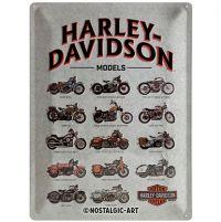 Blechschild-30x40-Harley-Davidson