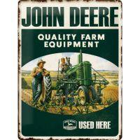 Blechschild-30x40-John-Deere