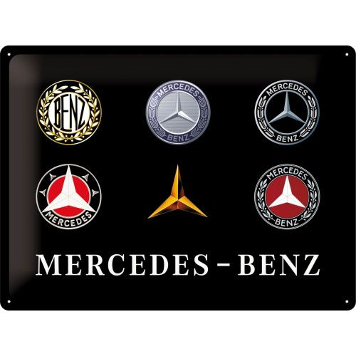 Blechschild-30x40-Mercedes-Benz