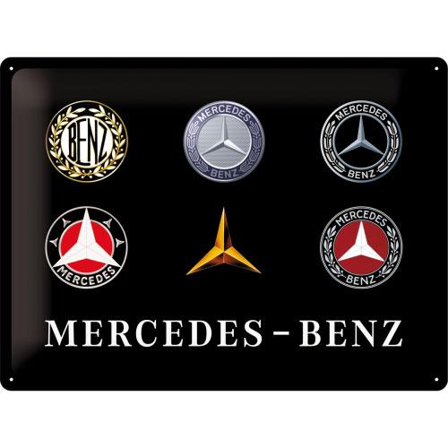 Blechschild-30x40-Mercedes-Benz-vorn