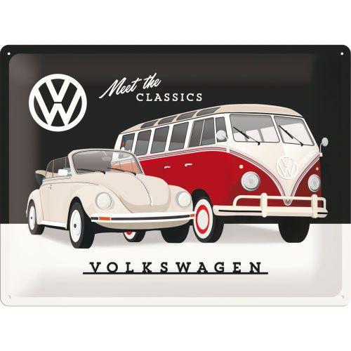 Blechschild-30x40-VW-Classics-vorn