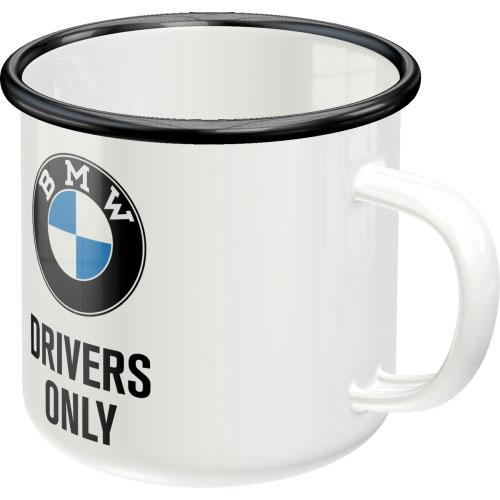 Emaille-Becher-BMW