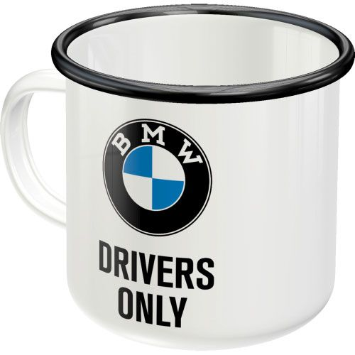 Emaille-Becher-BMW