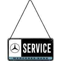 Haengeschild-Mercedes-Benz