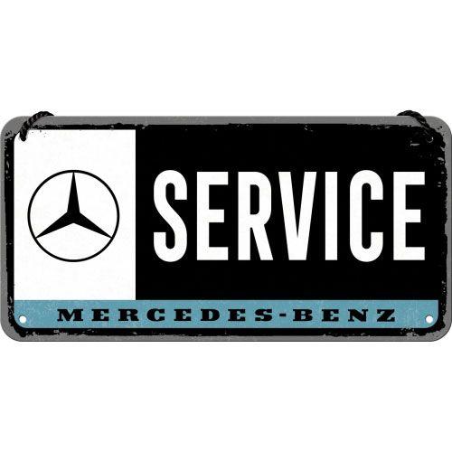 Haengeschild-Mercedes-Benz