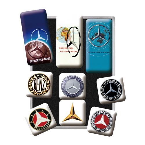 Magnet-Set-Mercedes-Benz-detail
