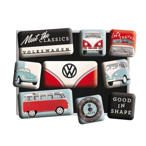 Magnet-Set-Volkswagen-meet the classics-detail