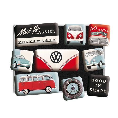 Magnet-Set-Volkswagen-meet the classics-detail