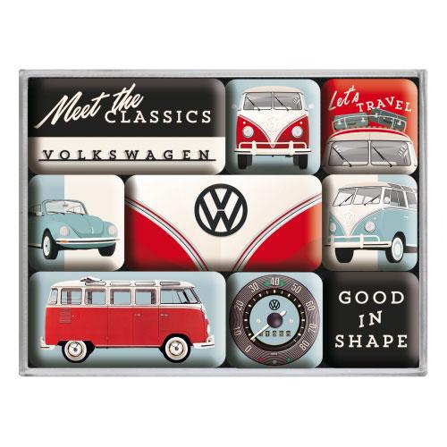 Magnet-Set-Volkswagen-meet the classics