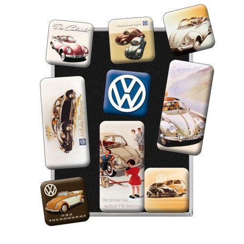 Magnet-Set-Volkswagen-VW Classic-detail