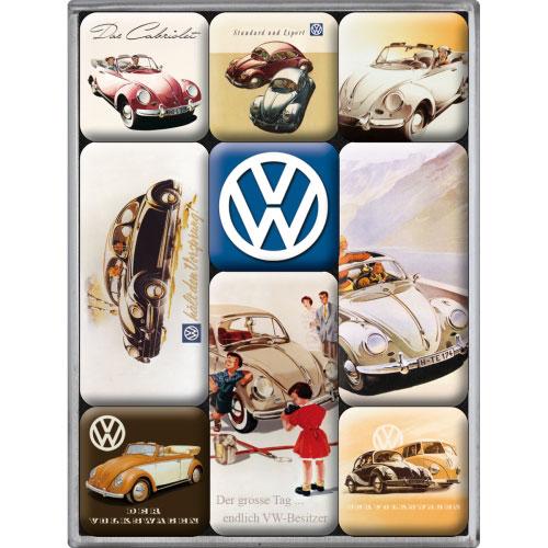 Magnet-Set-Volkswagen-VW Classic