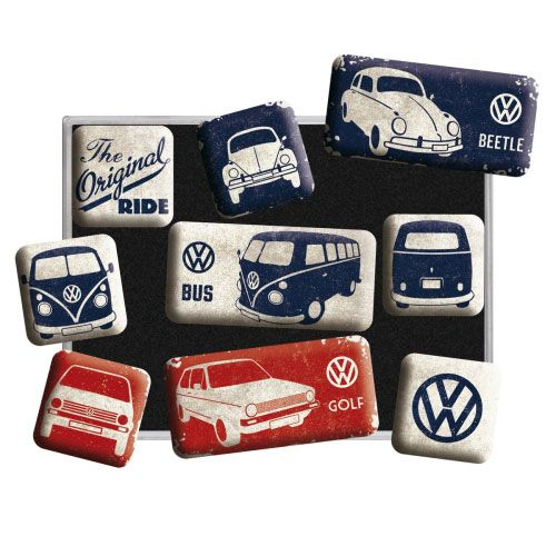 Magnet-Set-Volkswagen-the original ride-detail