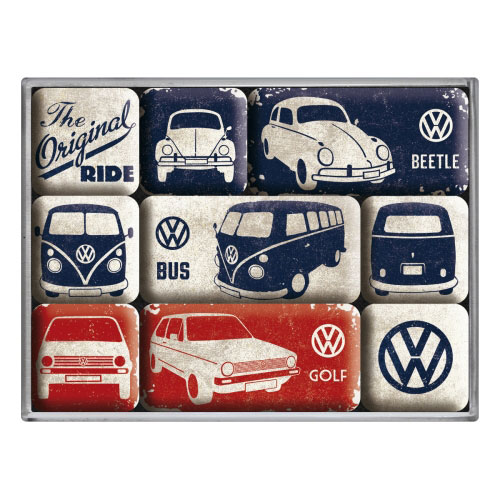 Magnet-Set-Volkswagen-the original ride