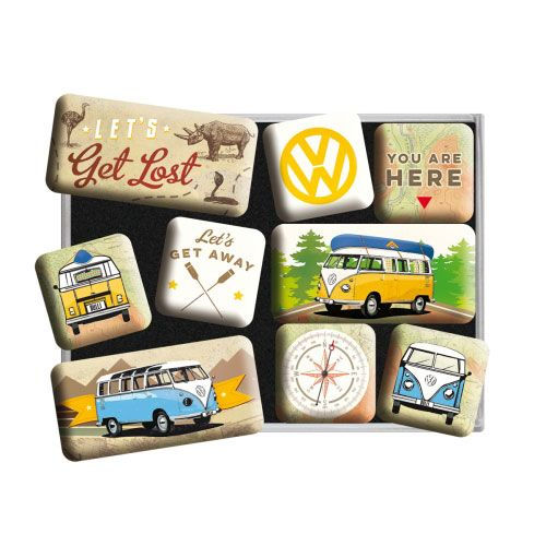 Magnet-Set-Volkswagen-get lost-detail
