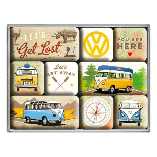 Magnet-Set-VW-lets get lost