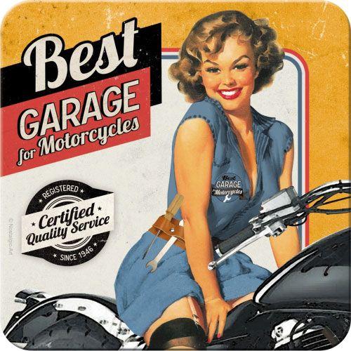 Metall-Untersetzer-Best-Garage