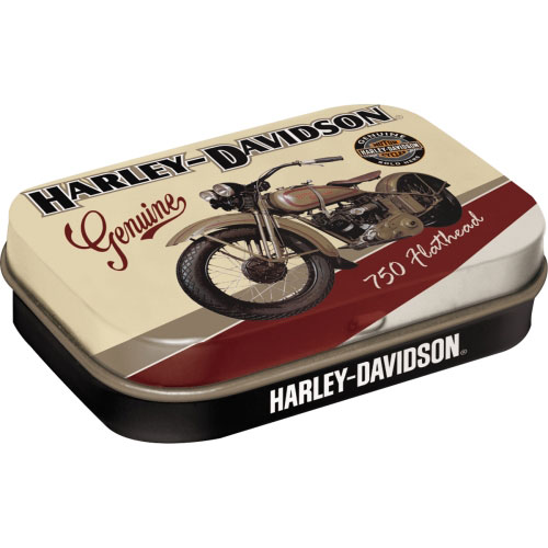 Pillendose-Harley-Davidson