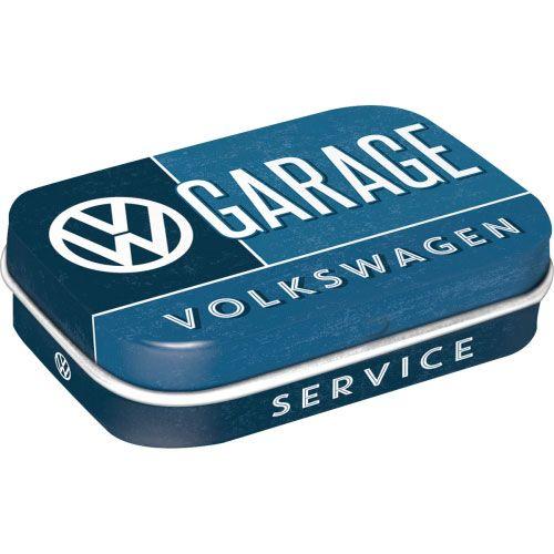 Pfefferminzdose-Volkswagen-Garage