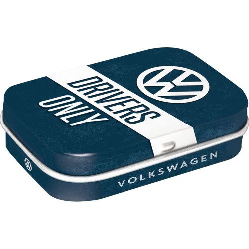 Pfefferminzdose-VW-drivers only
