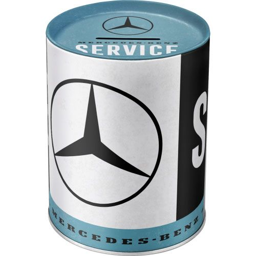 Spardose-Mercedes-Benz-vorn