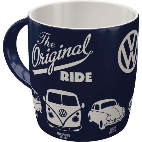 Tasse-Volkswagen-the original ride-hinten