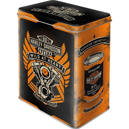 Vorratsdose-L-Harley-Davidson