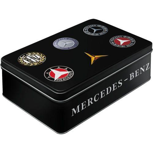 Vorratsdose-flach-Mercedes-Benz