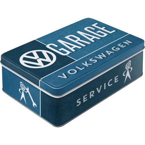 Vorratsdose-flach-VW Garage-vorn