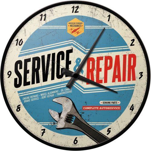 Wanduhr-Service-Repair