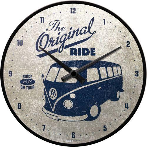 Wanduhr-VW-The original ride