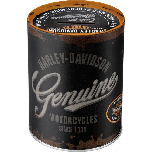 Spardosen-Harley-Davidson-Genuine-Logo-hinten