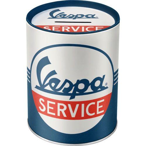 Spardosen-Vespa-Service-vorn