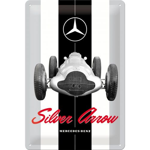 blechschild-20x30-mercedes-benz-silver-arrow