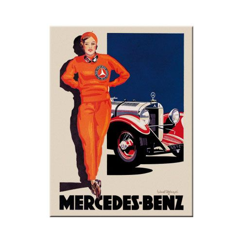 magnet-mercedes-benz-woman-in-red