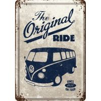Blechpostkarte-VW-Bulli-The-Original-Ride