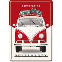 Blechpostkarte-VW-Gute-Reise