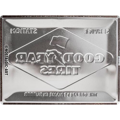 Blechschild-30x40-Goodyear-Logo-White-Rückseite